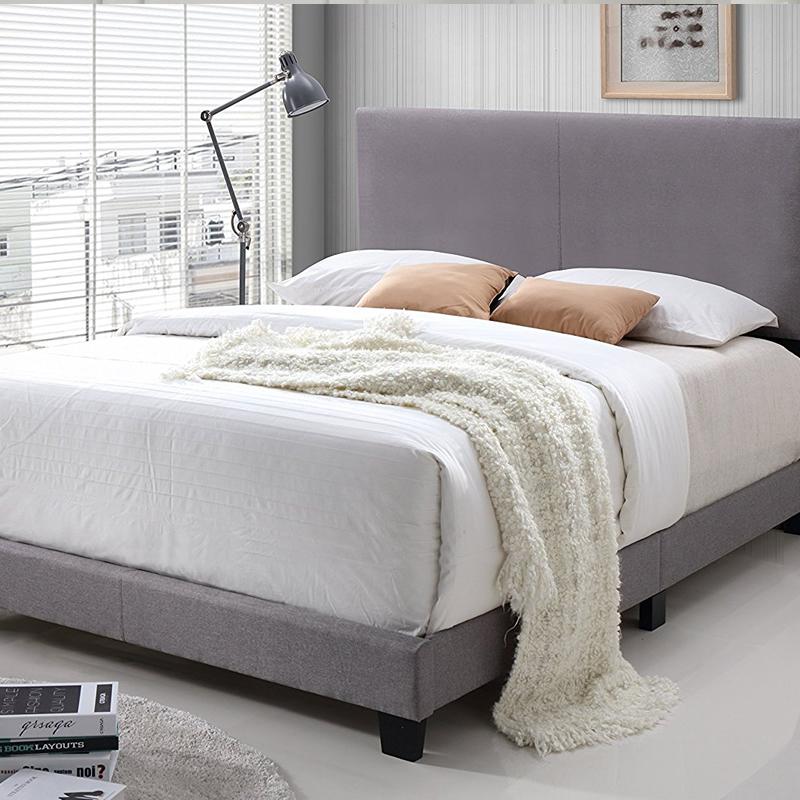 miglior vendita di alta qualità moderne tappezzata letto 023