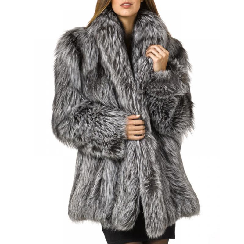 rvxigzvi donne faux pelliccia parka giacca lunga trincea inverno caldo spesso indumenti impermeabile e dimensioni xs-4xl