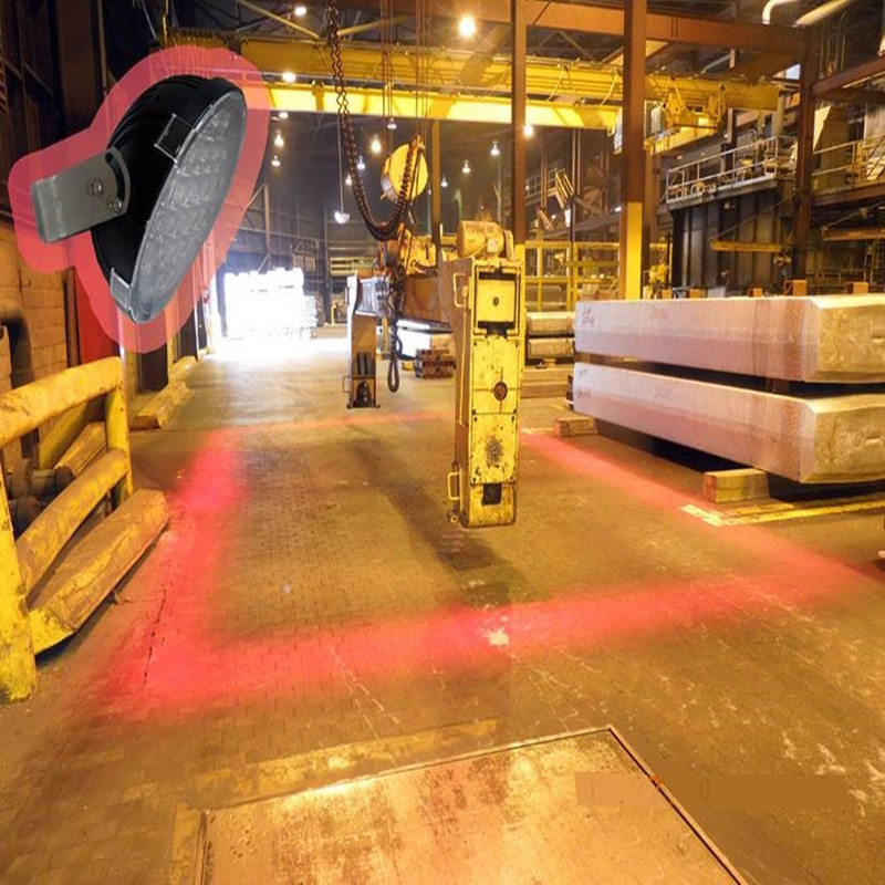 Spie luminose innovative per attrezzature mobili e gru