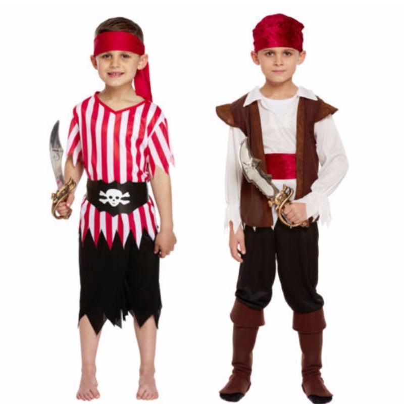 Costume da pirata per bambini all'ingrosso