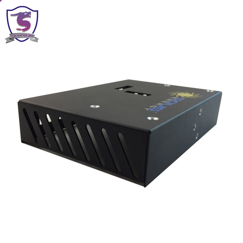 Scatole metalliche per contenitori in lamiera metallica personalizzati