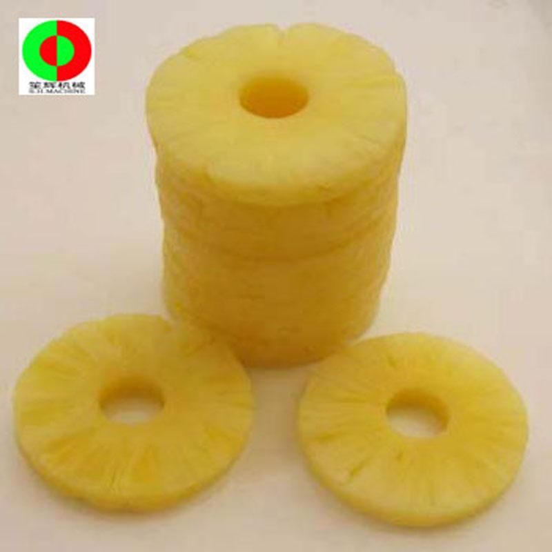 Macchina per l'esfoliazione dell'ananas