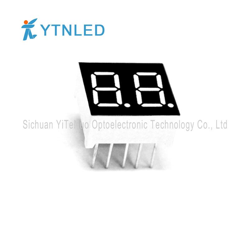 Display a LED a 7 segmenti rosso a 7 cifre da 0,36 pollici, tubo digitale