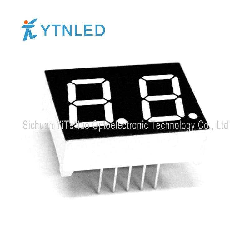Display a LED a 7 segmenti rosso a 7 cifre da 0,5 pollici, tubo digitale