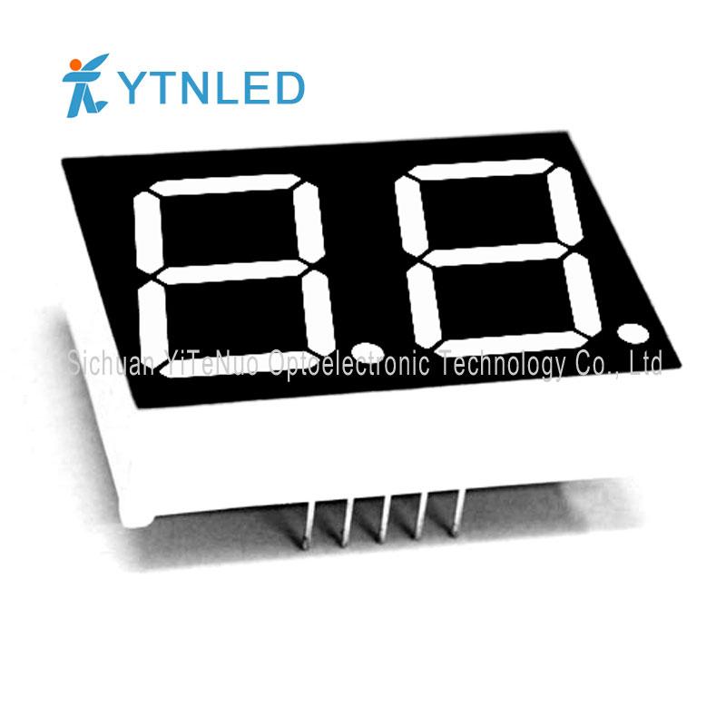 Display a LED a 7 segmenti rosso a 7 cifre da 0,8 pollici, tubo digitale