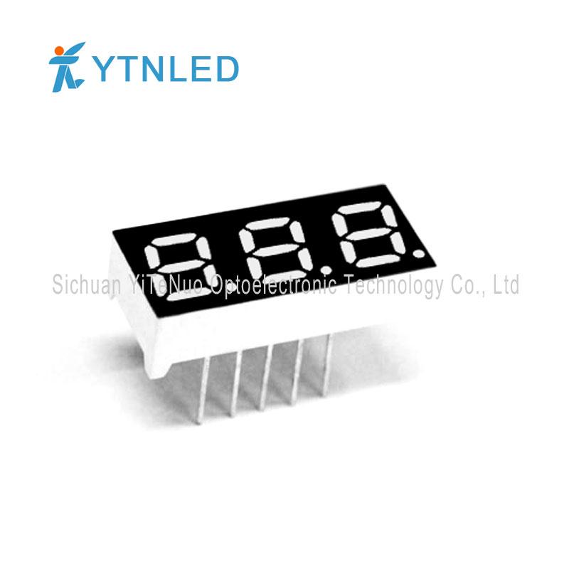 Display a LED a 7 segmenti rosso a 7 cifre da 0,28 pollici, tubo digitale