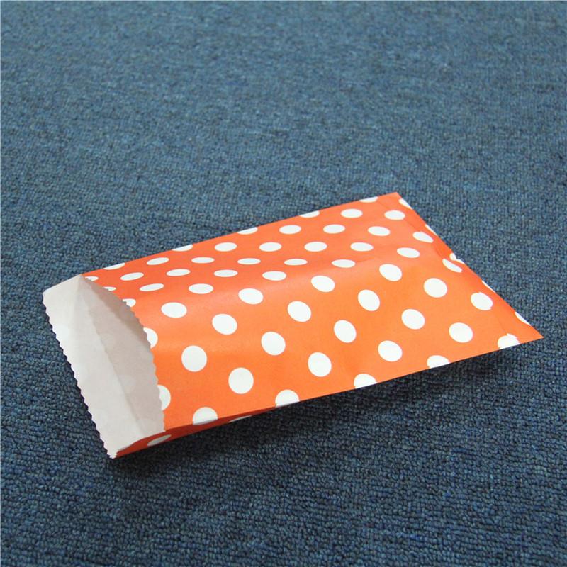 Sacchetti di carta piccola che imballano i sacchetti di imballaggio della caramella del regalo del partito