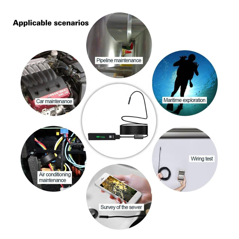 Endoscopio industriale WiFi