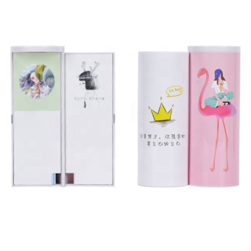 Flamingo Pencil Case Cute Stationery Plastic Gift Box