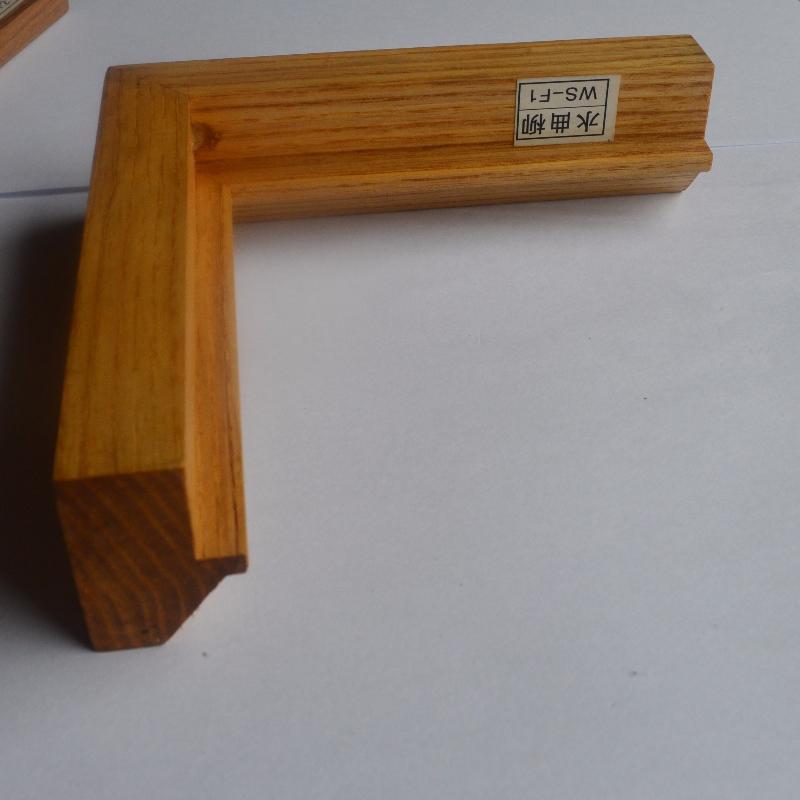 Cornice per foto in legno massello personalizzata (Fraxinus mandshurica Rupr)