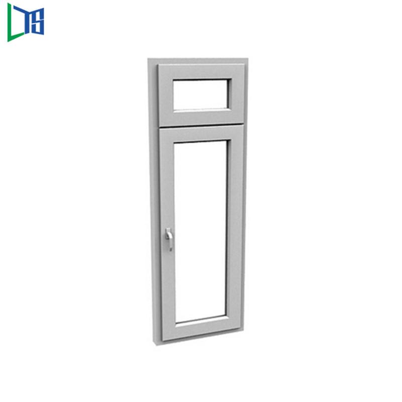 Finestre a battente in alluminio con finestre a battente con verniciatura a polveri finestrate con doppi vetri
