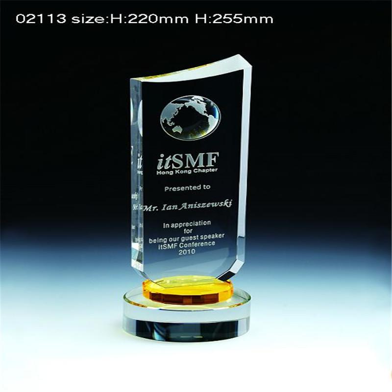Premio di cristallo