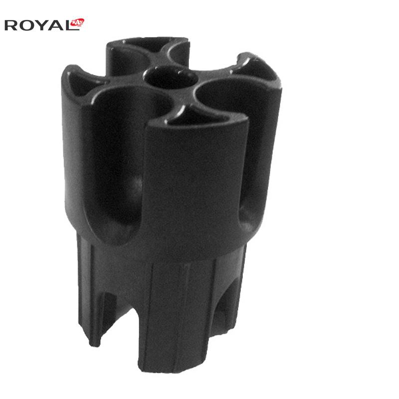 Corona dritta a 3 stadi in tubo e drappo 2.0
