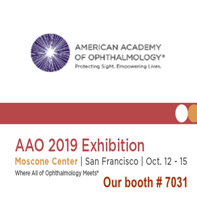 Benvenuti a farci visita alla fiera AAO 2019