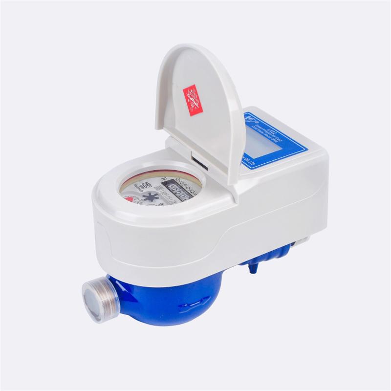 Contatore per acqua prepagato con scheda IC