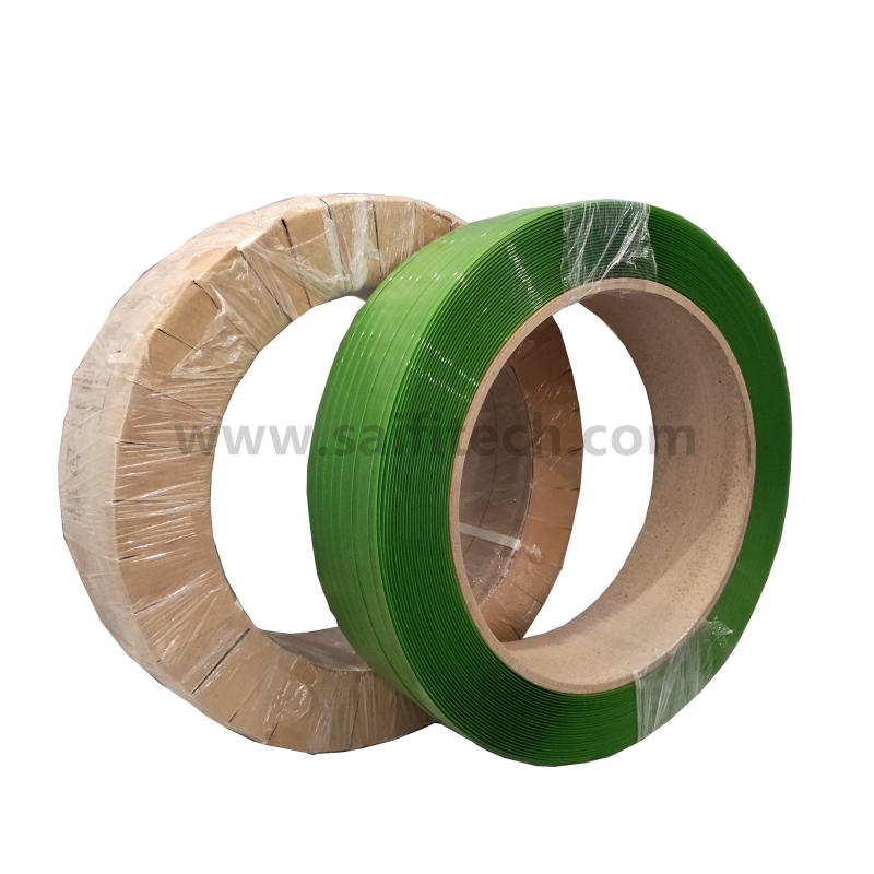 Fascia di poliestere di PET verde